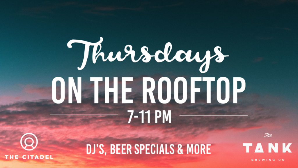 Thursdays on the rooftop